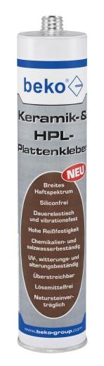 Keramik- & HPL-Plattenkleber 310 ml