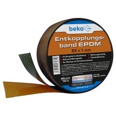 TERRASYS Entkopplungsband EPDM, 65 x 1 mm