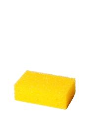 Insektenschwamm, grobporig, Farbe: gelb, 110 x 70 x 40 mm