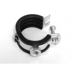 Rohrschelle Praktic- Gelenkrohrschellen mit Kippschraube 1 1/2 Zoll 48-50mm